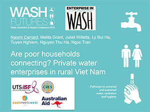 RESEARCH OUTPUTS « Enterprise In WASH